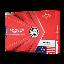 Chrome Soft Truvis USA Golf Balls