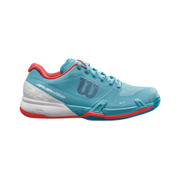 Wilson Rush Pro 2.5 Women's Tennis Shoe - Blue/White
