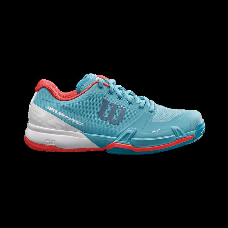 Wilson Rush Pro 2.5 Women's Tennis Shoe - Blue/White