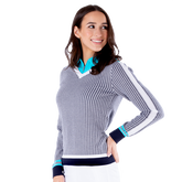 Alternate View 1 of Sportif Collection: Sadie Women's Golf Sweater
