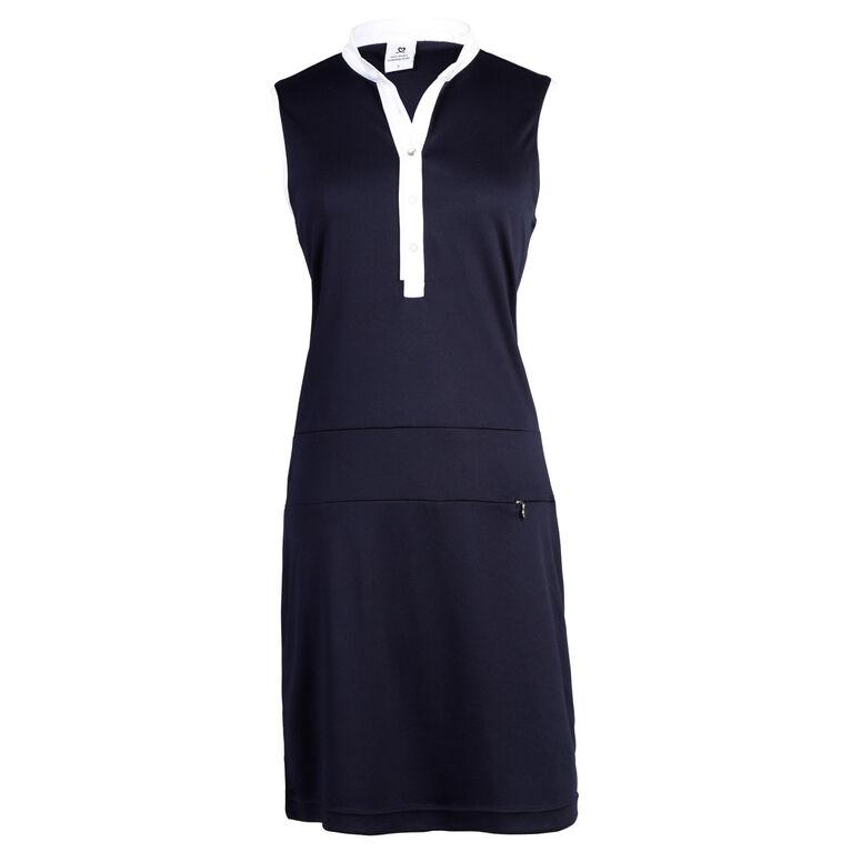 Navy Group: Melinda Sleeveless Dress