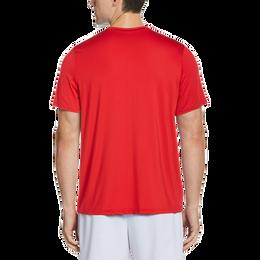 Asymmetrical Printed Men's Tee Shirt