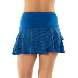 Long Shadow Stripe Asymmetrical Tier Skirt