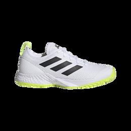 Court Control Tennis Shoes - White/Black