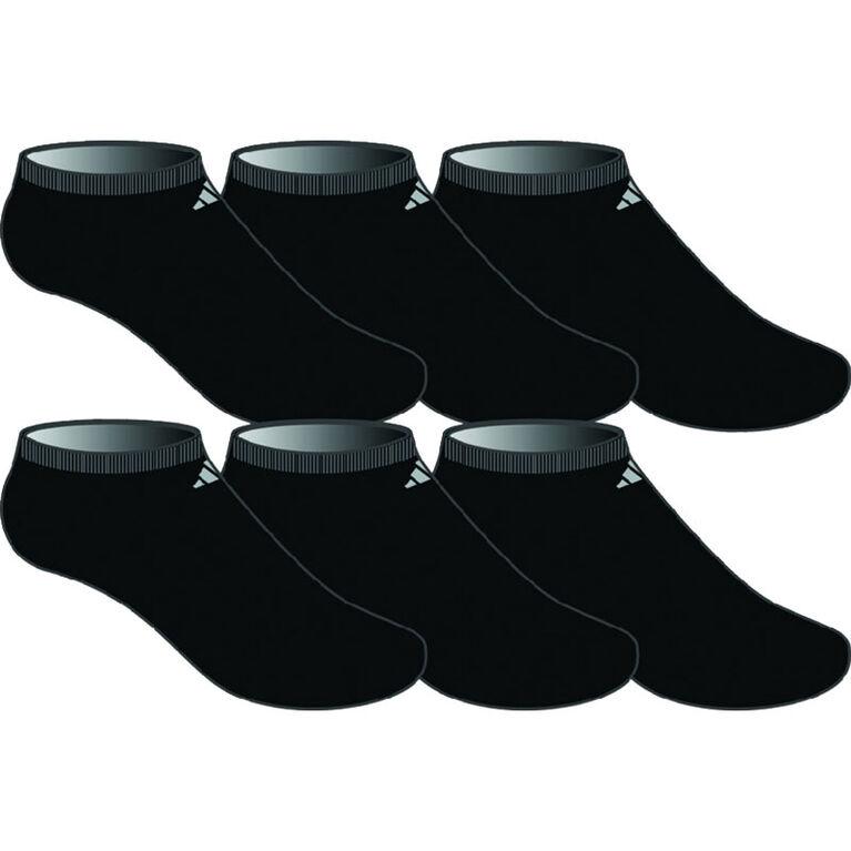 adidas Athletic No Show Socks - 6 Pack