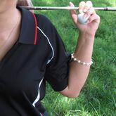 Alternate View 3 of Golf Goddess Silver Golf Ball Bead Stroke Counter Bracelet
