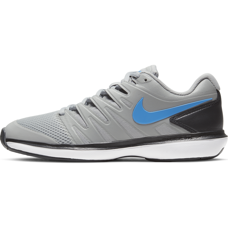 Air Zoom Prestige Men's Tennis Shoe - Grey/Blue