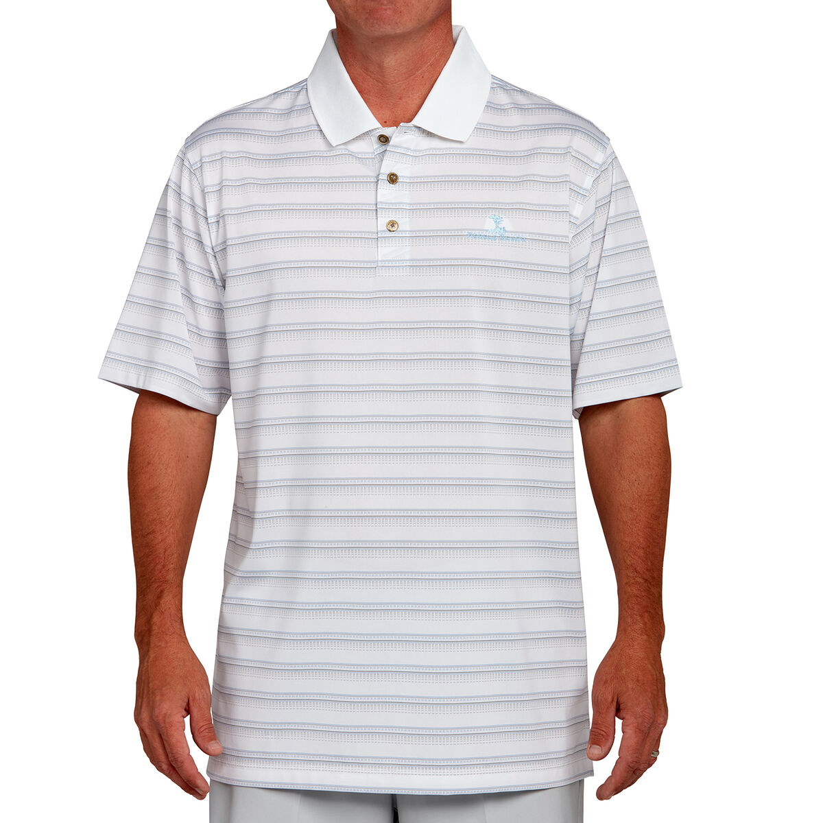2211525e15 Pebble Beach Stripe Polo | PGA TOUR Superstore