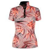 360 by Tail Short Sleeve Bamboo Print Top