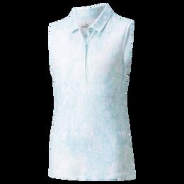 Cloudspun Concrete Sleeveless Girls Polo Shirt