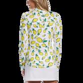 Alternate View 1 of Summer Lemon Collection: Lemon Print 1/4 Zip Pull Over