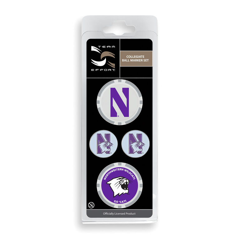 Team Effort Northwestern Ball Marker