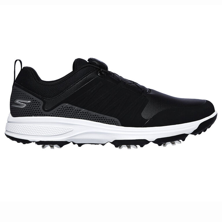 GO GOLF Torque Twist Men's Golf Shoe - Black/White