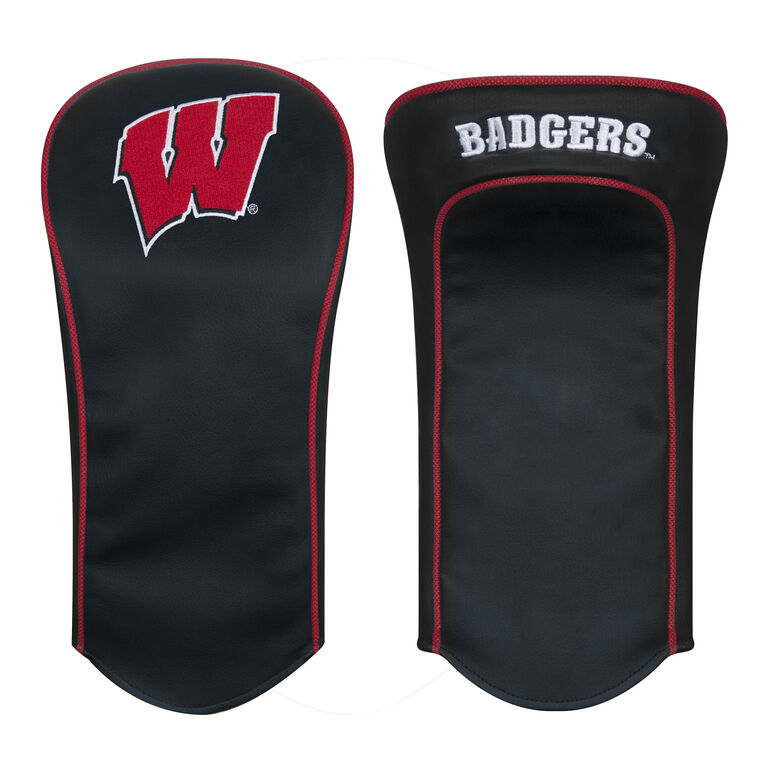 Team Effort Wisconsin Black Driver Headcover