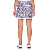 Alternate View 1 of Lilac and Navy Group: 3 Tone Floral Print Skort