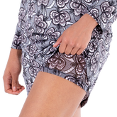 Alternate View 1 of Dynamo Collection: Lili Lace Print Skort