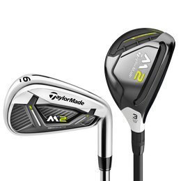 M2 2019 4,5-Hybrid, 6-PW Combo Set w/ Graphite Shafts