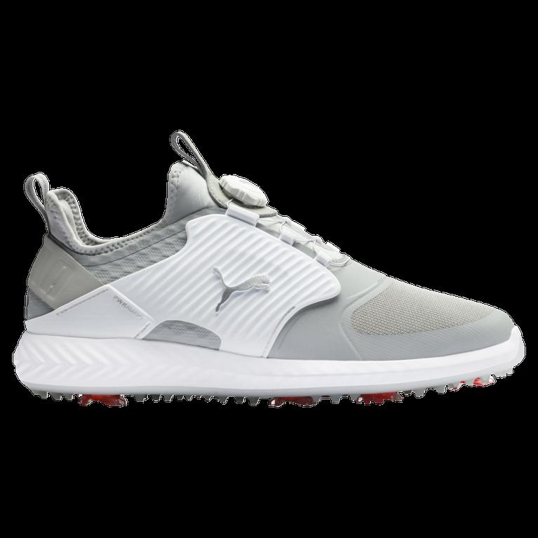 IGNITE PWRADAPT Caged DISC Men's Golf Shoe - Grey/White