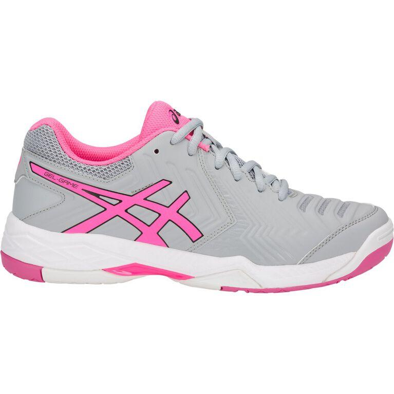 Asics Gel Game 6 Women's Tennis Shoe - Grey