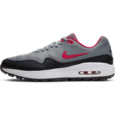 Alternate View 2 of Air Max 1 G Men's Golf Shoe - Grey/Red