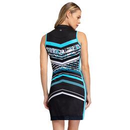 Into Blues - Alyssa Flutter Stripe Dress
