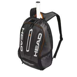 Tour Team Backpack - Black/Silver