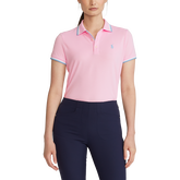 Alternate View 3 of Tailored Fit Short Sleeve Golf Polo