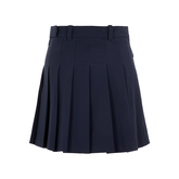 Alternate View 5 of Adina Solid Pleat Micro Stretch Skirt