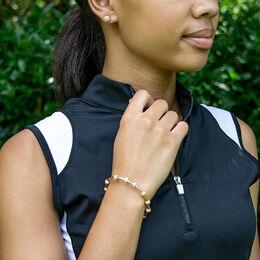 Golf Goddess Rose Gold Original Stroke Counter Bracelet