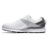 Alternate View 1 of PRO|SL BOA Men's Golf Shoe - White/Grey