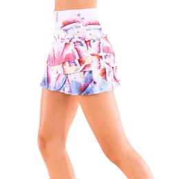 Hi-Speed Scalloped Tennis Skirt