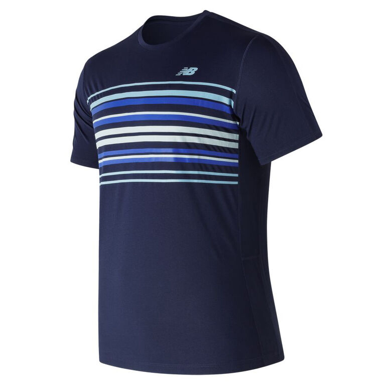 New Balance Graphic Accelerate Crew Top