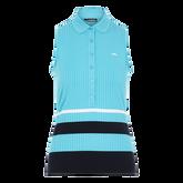 Alternate View 5 of Tess Sleeveless Striped Polo Shirt