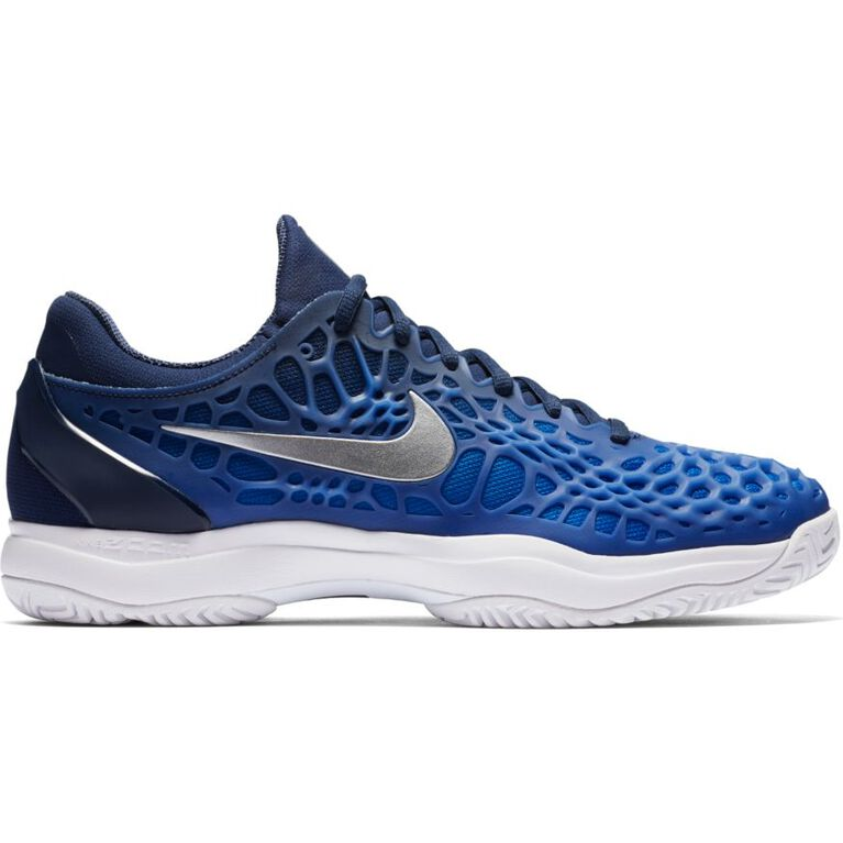 Nike Zoom Cage 3 Men's Tennis Shoe - Navy