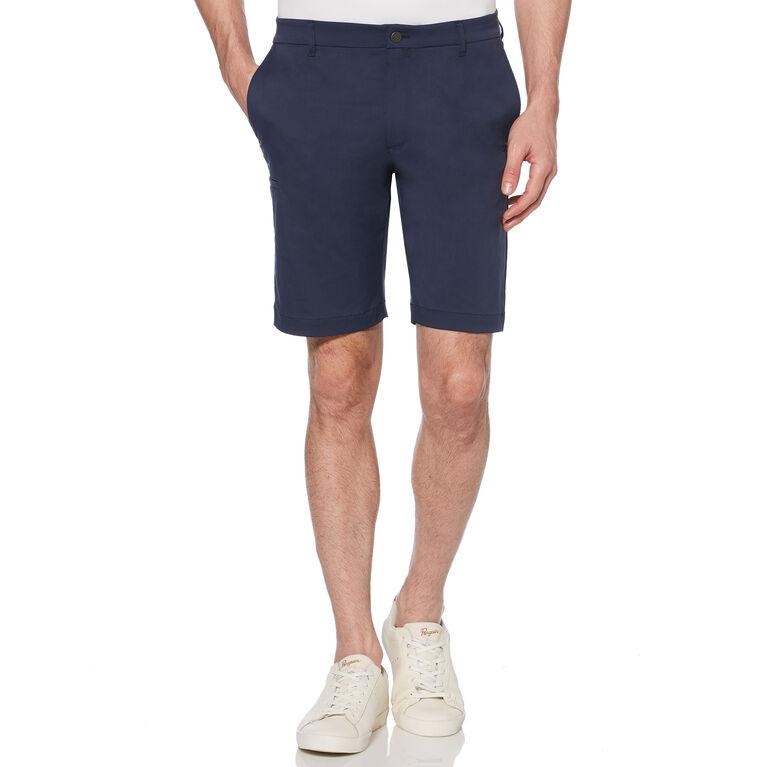 Slim Fit Herringbone Golf Short