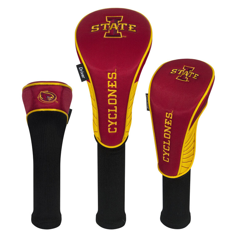 Team Effort Iowa State Cyclones Headcover Set of 3