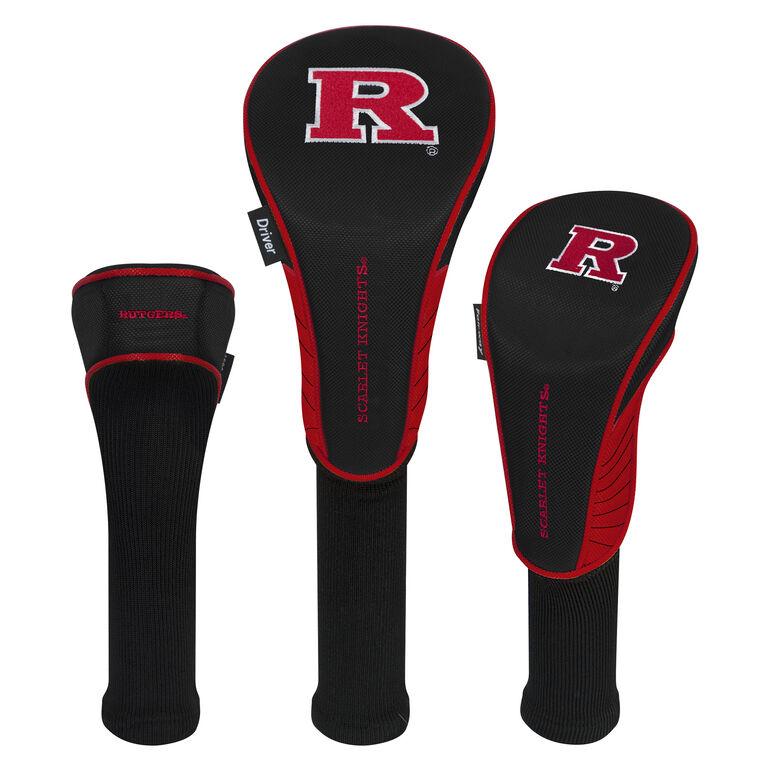 Team Effort Rutgers Scarlet Knights Headcover Set of 3