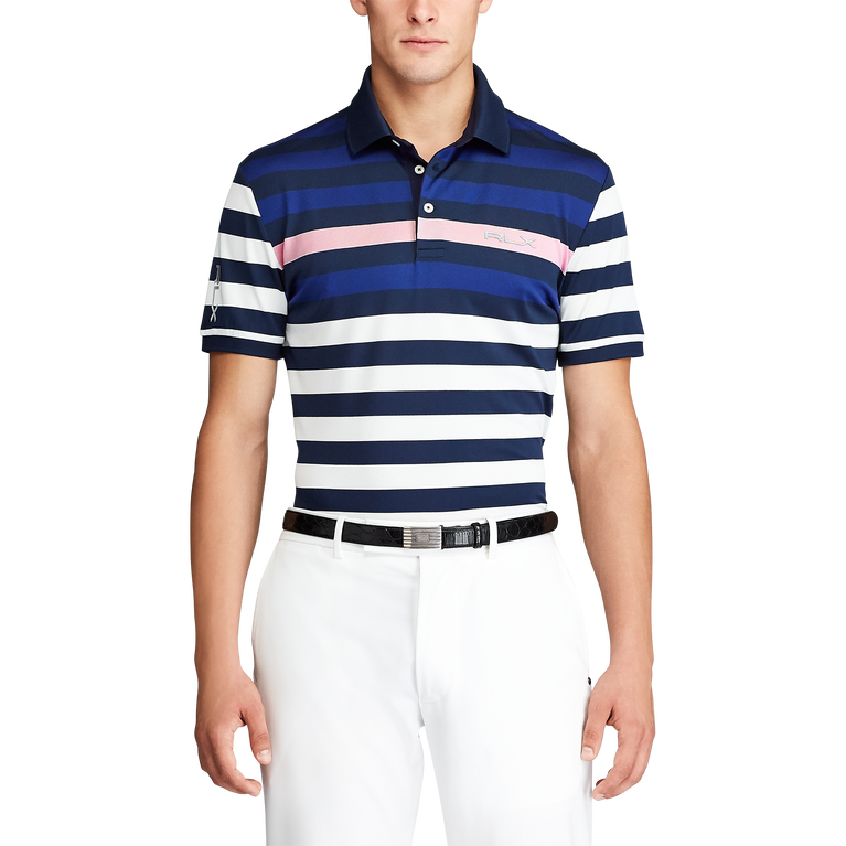 Custom Slim Fit Tech Piqué Polo Shirt