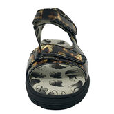 Alternate View 2 of Two Strap Women's Spikeless Golf Sandal - Leopard