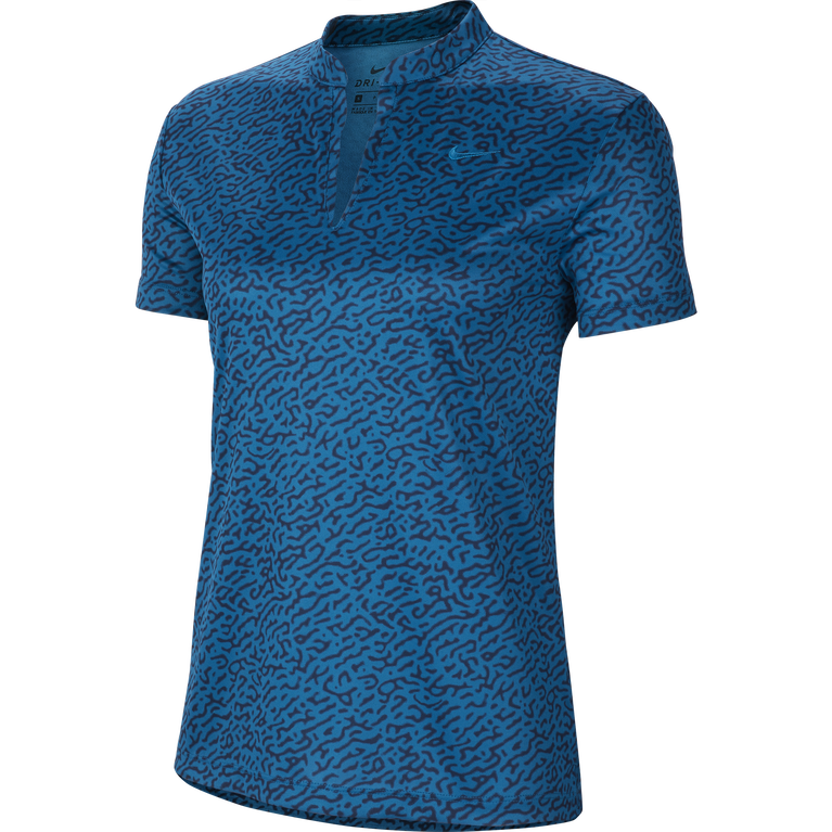 Dri-FIT Short Sleeve Triangle Print Polo Shirt