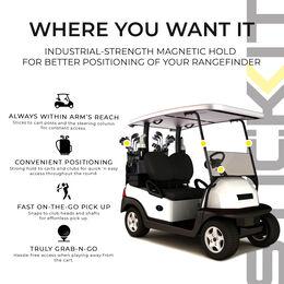 Stick It Magnetic Rangefinder Strap