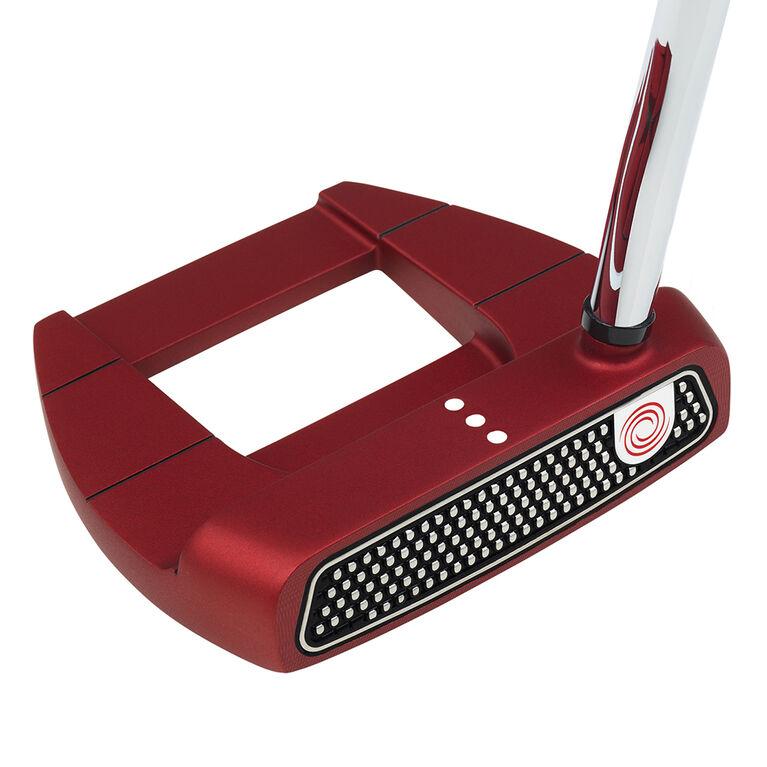 Odyssey O-Works Red Jailbird Mini Putter w/ Winn Red Grip