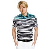 Blurred Stripes Polo
