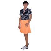 "Alternate View 2 of Paris Collection: Flounce Wave 18"" Golf Skort"