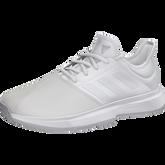 Alternate View 2 of GameCourt Men's Tennis Shoe - White/Grey