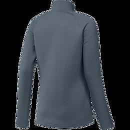 Long Sleeve Full Zip Textured Layer Jacket