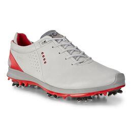 ECCO BIOM G 2 Free GTX Men's Golf Shoe - Grey/Red