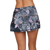Alternate View 1 of Calypso Collection: Orchid Paneled Tennis Skort