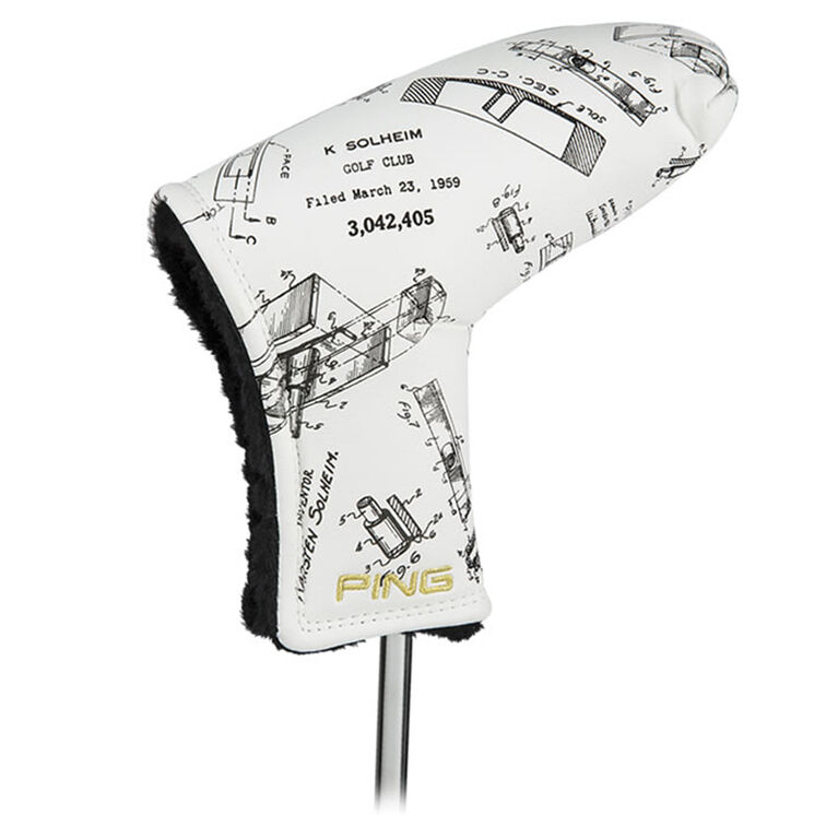 Patent Drawing Putter Cover