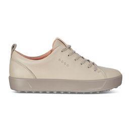 ECCO Golf Soft Low Women's Golf Shoe - Light Brown